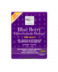 Blue Berry™ Øjenvitamin Omega