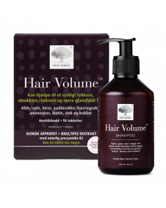 Hair Volume™ 90 tabletter + Hair Volume Shampoo