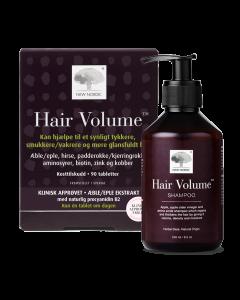 Hair Volume™ 90 tabletter + Hair Volume Shampoo